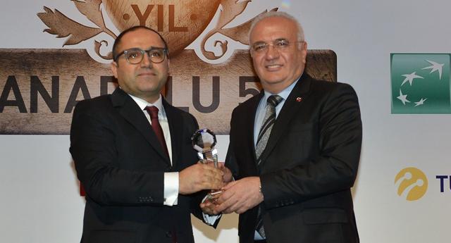 Tiryaki Agro'ya birincilik ödülü