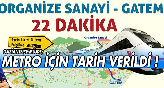 FLAŞ | GAZİANTEP'TE METRO HEYECANI