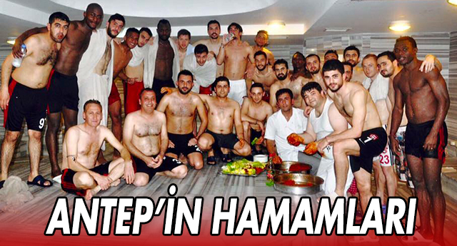 Gaziantepspor'a hamam dopingi
