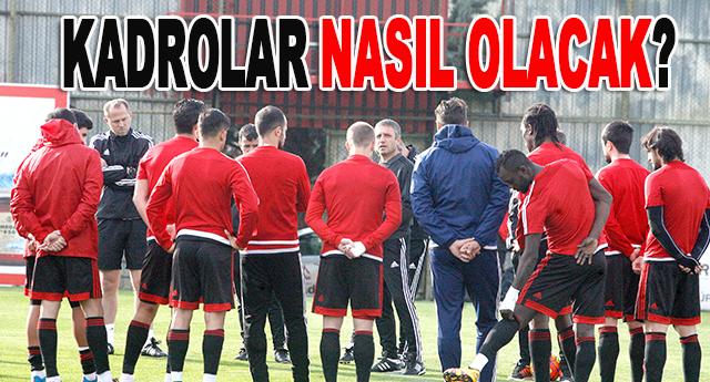 İşte Gaziantepspor'un ve Galatasaray'ın muhtemel 11'i
