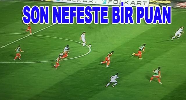 Büyükşehir İzmir'de kazanamadı 1-1