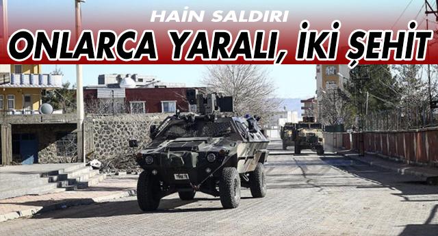 MARDİN'DE ALÇAK SALDIRI !
