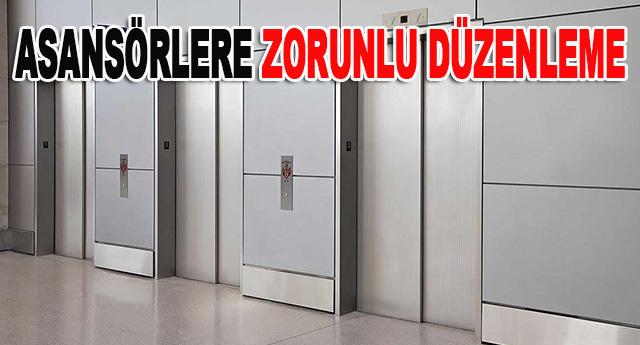 her binada en az 10 kişilik bir asansör olacak