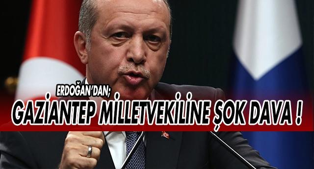 Erdoğan'dan Ekici'ye 50 bin TL'lik dava