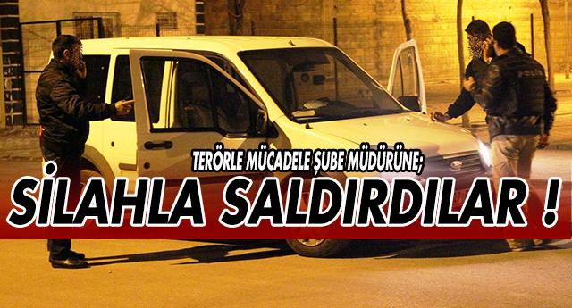GAZİANTEP'TE POLİSE SİLAHLI SALDIRI