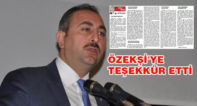 Gül: Yargıtay Gaziantep'e gelmiş olacak