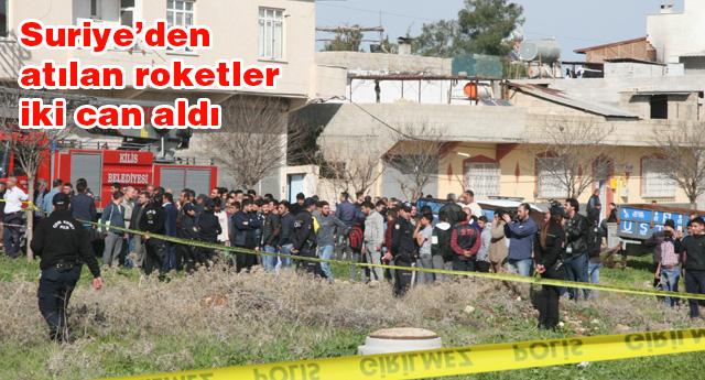 KİLİS'TE PANİK