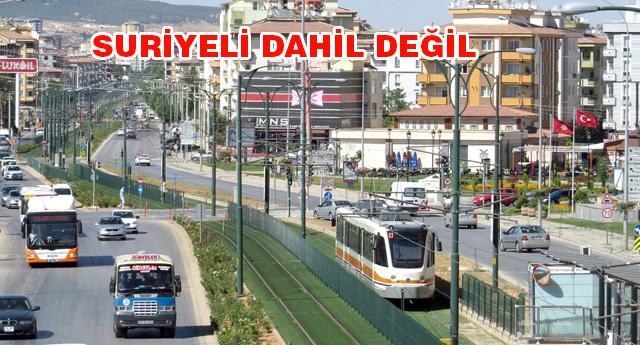 Gaziantep'te kaç bin yabancı yaşıyor?