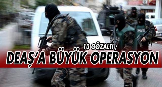 GAZİANTEP'TE DEAŞ'A DARBE
