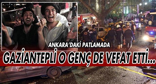 ANKARA KURBANLARINDAN BİRİSİ DE GAZİANTEPLİ OZAN...