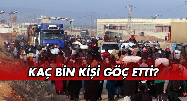 Gaziantep'ten gidiyorlar