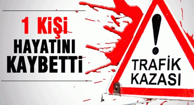 FECİ KAZA CAN ALDI