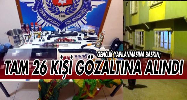 GAZİANTEP'TE TERÖRE BÜYÜK DARBE !
