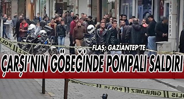 Gaziantep'te korkulu dakikalar