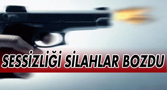 Düztepe'de silah sesleri