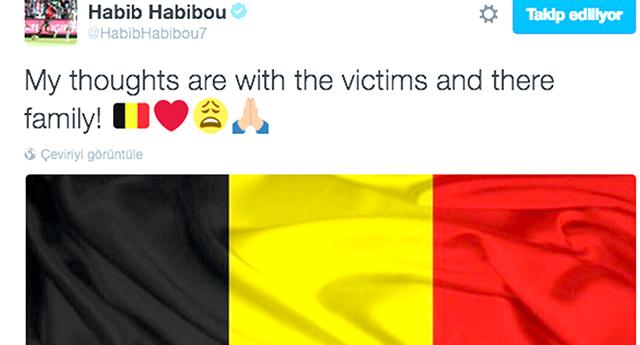 Habibou'dan Belçika paylaşımı