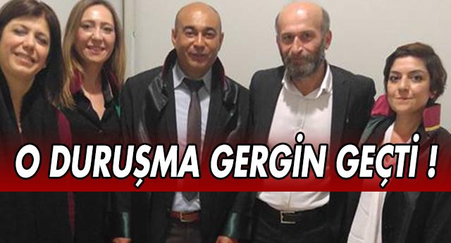 Gaziantepli Avukatlar tarihi duruşmaya katıldı