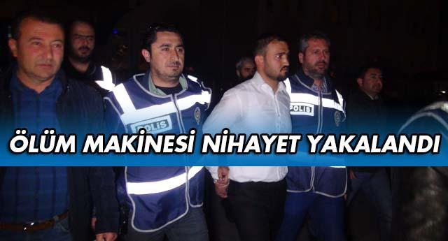 İZMİR'E KAÇIYORDU