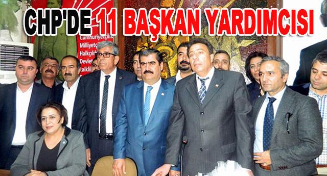 CHP Gaziantep il yönetim kurulu görev bölümü yaptı