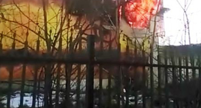 Gaziantep'teki yangın korkuttu