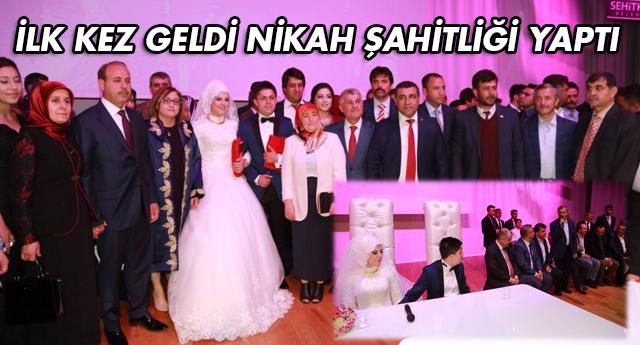 Ümit Özdağ'lı nikahda MHP'liler buluştu
