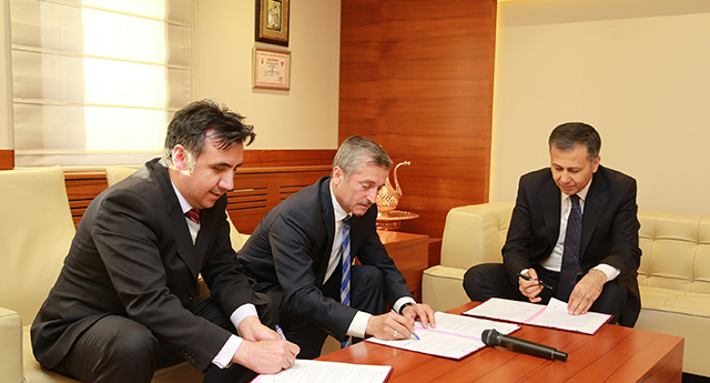 Protokol imzalandı