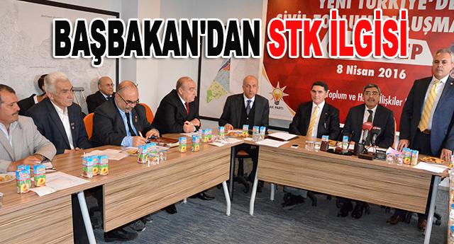 BAŞBAKAN'DAN STK İLGİSİ
