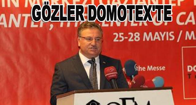 DOMOTEX TURKEY'İN STANTLARI DOLDU