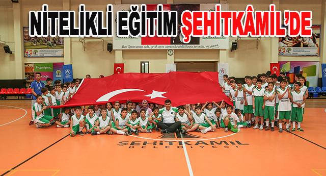 Sporcu adayları Şehitkamil'de buluşuyor