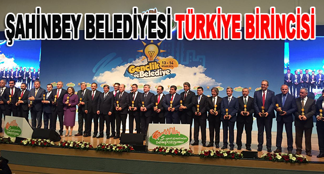 Büyükşehir ve Şahinbey'e proje ödülü