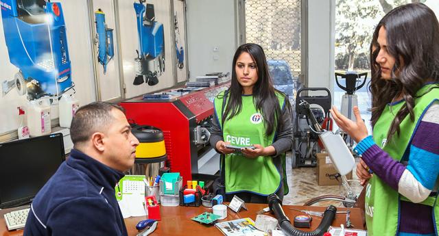 Kent gönüllüleri işbaşında