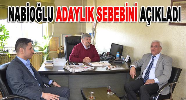 Mehmet Nabioğlu,Ökkeş Özekşi'yi ziyaret ederek hedeflerini anlattı