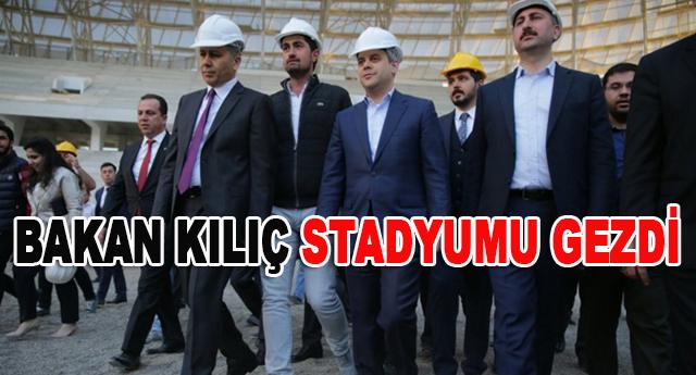 33 bin kişilik Gaziantep Arena'yı inceledi