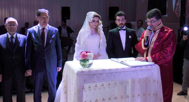 Çelikaslan ve Aksoy ailelerinin mutlu günü