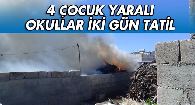 KİLİS'E YİNE ROKET ATTILAR