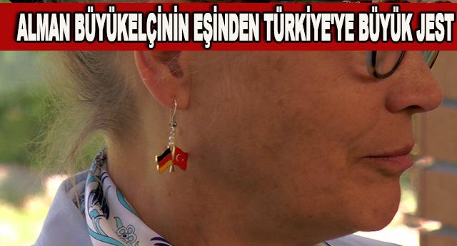 Alman ve Türk Bayrağı birarada