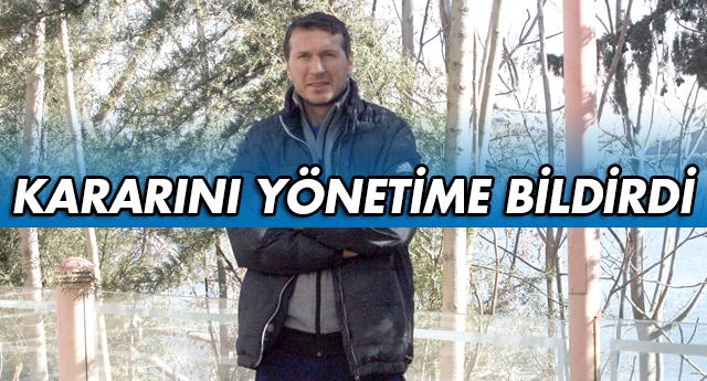 BAYRAM BEKTAŞ İSTİFA ETTİ..