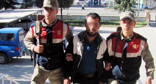 PKK yazdı, gözaltına alındı