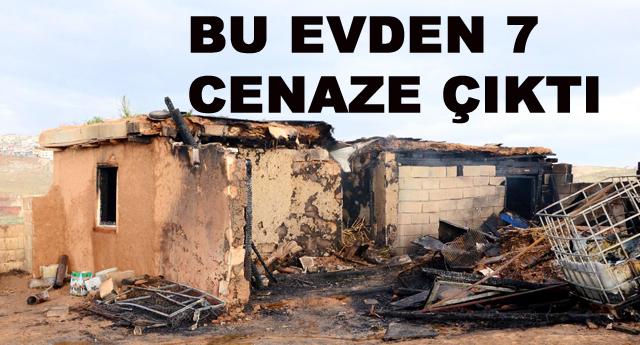 Gaziantep'te yangın faciası; Baba ile 6 çocuğu öldü