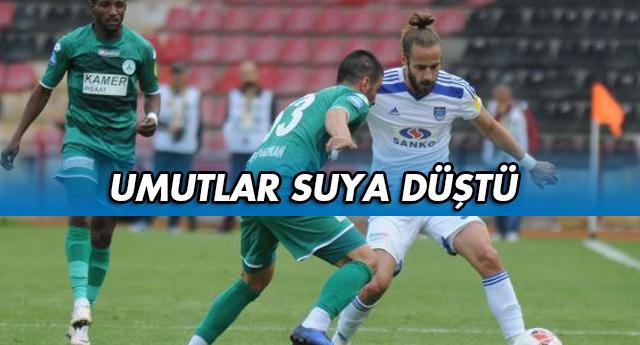 PLAY-OFF BAŞKA BAHARA 0-0