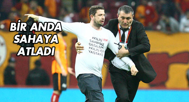 DERBİDE KİLİS PROTESTOSU