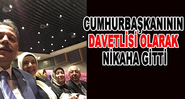Cumhurbaşkanı Erdoğan'dan Nakıboğlu'nu nikah daveti