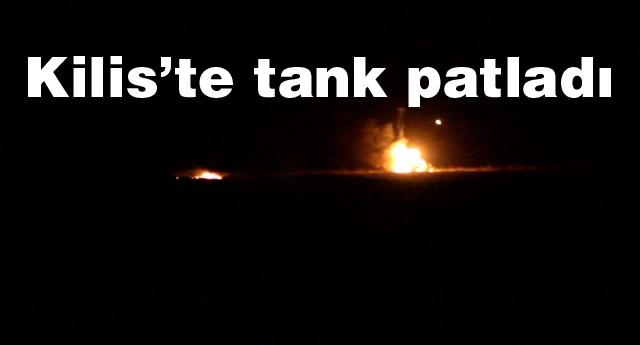 tankta patlama ve yangın