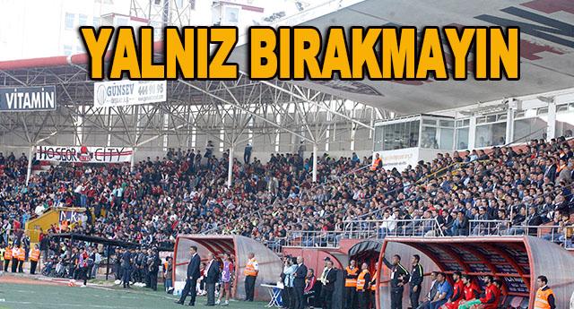 Gaziantepspor taraftarının takımına sahip çıkma günü