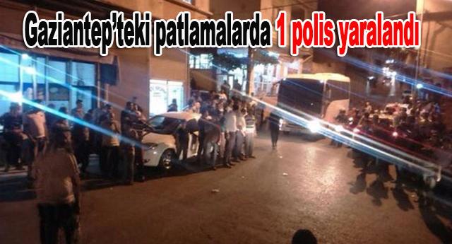 1 polis yaralı