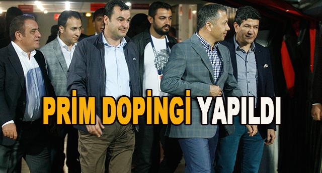 Gaziantepspor'da futbolculara prim dopingi yapıldı