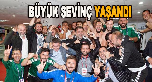 Gaziantepspor'da büyük sevinç yaşanıyor