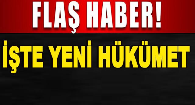İşte 65. Türkiye Cumhuriyeti Hükümeti