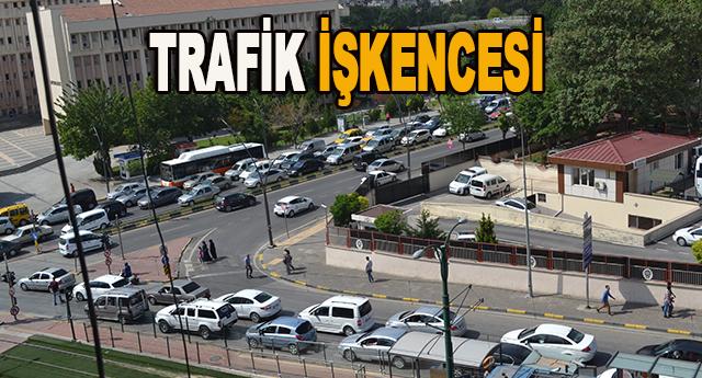 Gaziantepte trafik sorununa dün bir yenisi eklendi