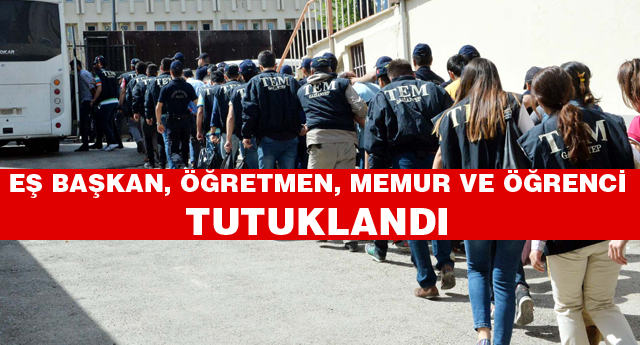 PKK operasyonuna 17 tutuklama